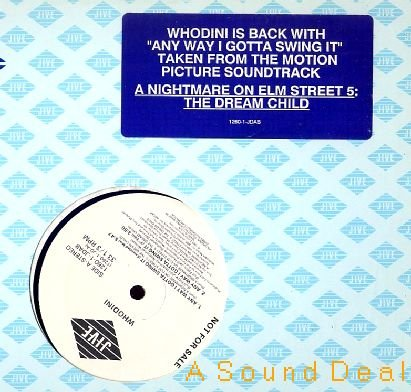"WHODINI '89 Any Way I Gotta Swing It DJ 12"" ASD"