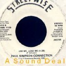 "PAUL SIMPSON CONNECTION '82 DJ BOOGIE 7"" USE ME LOSE ME"