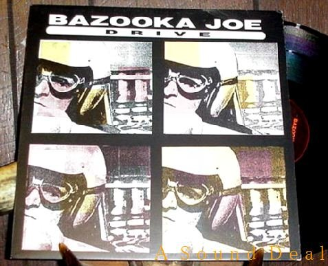 "BAZOOKA JOE RARE '89 PIAS PS 12"" DRIVE INDUSTRIAL SYNTH"