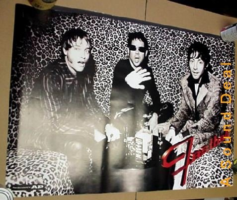 FASTBALL All the Pain POSTER Austin Texas '88 promo