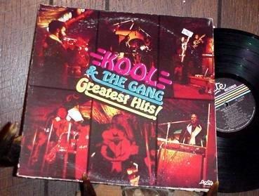 KOOL & THE GANG Greatest Hits '75 DE LITE LP ASD