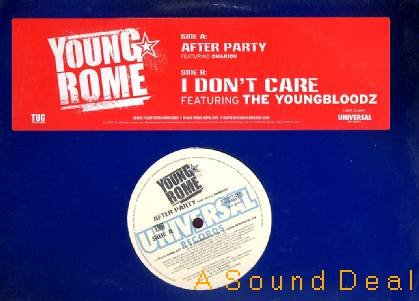 "YOUNG ROME OMARION YOUNGBLOODZ After Party 12""ASD"