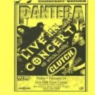 PANTERA Clutch Original SATX '97 HANDBILL Stoner Poster