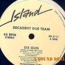 "DECADENT DUB TEAM SIX GUN 12"" random TEXAS electro RAP"