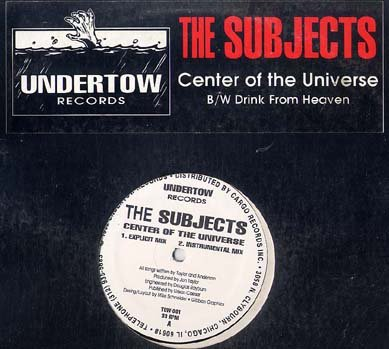 """SUBJECTS '92 RAVE 12"""" CENTER OF THE UNIVERSE VAGINA MIX"""