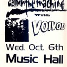 VOIVOD Damn the Machine Handbill Poster metal ASD