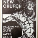 LORDS OF THE NEW CHURCH Texas 1987 POSTER Rare KOZIK