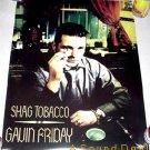 GAVIN FRIDAY Shag Tobacco'96 Promo POSTER Virgin Prunes