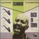 EDDIE CLEANHEAD VINSON Back in Town LP '57 jump blues