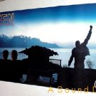 QUEEN Freddie Mercury Huge 1995 MADE IN HEAVEN Promo only BANNER Poster