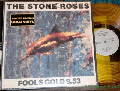 "STONE ROSES Fools GOLD WAX 12"" rare Shrink + Sticker!!!"