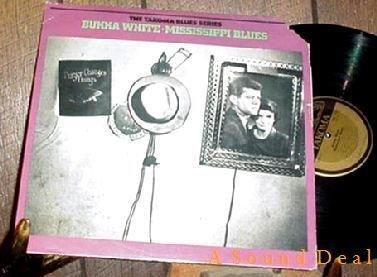 BUKKA WHITE Mississippi Blues HTF Takoma LP MINT-