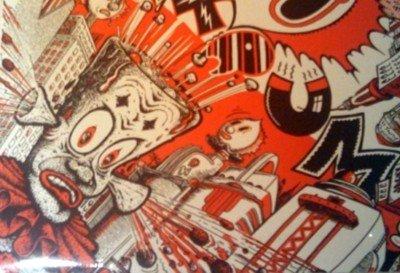 TANTRUM punk comp LP White Flag L7 Celebrity Skin++ SS