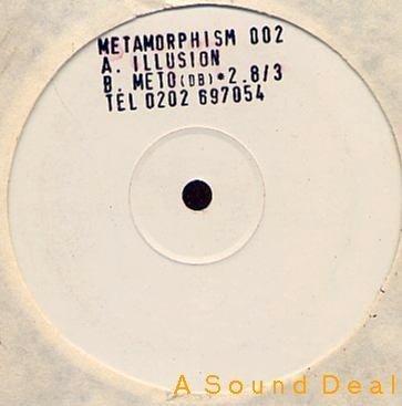 "METAMORPHISM Illusion 12"" Techno Rave '93 Tony Clements"