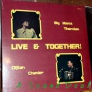 BIG MAMA THORNTON CLIFTON CHENIER Live & Together LP SS