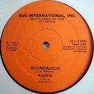 "KAIYA Scandalous 12"" RARE modern soul HEAR private SEAL"