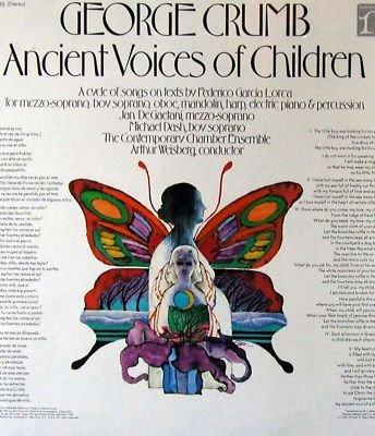 George Crumb Ancient Voices of Children LP avant electr