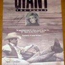 JIM HIGHTOWER MORGAN FAIRCHILD Signed '89 Poster GIANT