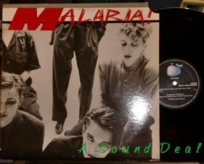 "MALARIA! Your Turn 12"" cold dark fem '82 minimal HEAR"