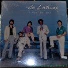 LATINOS It Must Be Love LP SEALED Modern Soul XIAN Latin boogie funk hear MINT!!