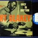 Art Blakey original'57 MONO Blue Note LP Orgy in Rhythm Volume One HEAR BLP 1554