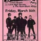 D GENERATION ORIG OK'96 GIG HANDBILL POWER PUNK POSTER