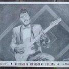 ALBERT COLLINS Original Texas Blues POSTER Garrett Art Antone's Night Club elect