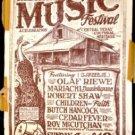 PIONEER FARM '83 Poster BUTCH HANCOCK Micael Priest art Austin Texas trad