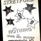 STRETFORD '93 Poster Austin Texas punk pop zEPPOLIS