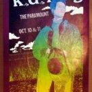 KD LANG K.D. TEXAS 1989 original Paramount Concert POSTER Jagmo Austin Texas KD