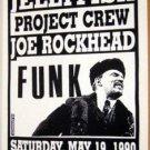 Bouffant Jellyfish JOE ROCKHEAD Texas funk '90 POSTER