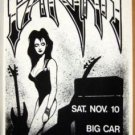 PARIAH Big Car Texas Metal '90 Cannibal Club POSTER Rare! Austin Texas