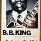 BB KING Texas '86 Fast & Cool Club gig POSTER blues B.B. Jagmo RARE original