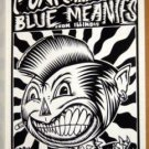 PUNKINHEAD Blue Meanies POSTER Cannibal Club Texas funk ska punk Bob Schneider