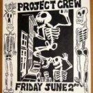 BAD MUTHA GOOSE Sprawl Cannibal Club '89 Texas funk punk Poster PAIR Big Boys