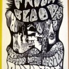 HAPPY FAMILY Texas '90 Cannibal Club gig POSTER Jason Austin