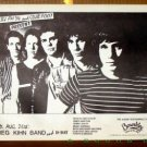 GREG KIHN BAND D-Day RARE Texas '81 Concert POSTER Club Foot power pop 867-5309