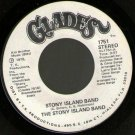"STONY ISLAND BAND Glades 7""45 soul funk disco DJ white label promo"