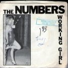 "Numbers Working Girl 7"" RARE mod power pop '82 punk HEAR guitar wave Orlando FLA"