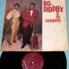 Bo Diddley & Company LP RARE original Checker 1963 press maroon label