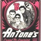 FABULOUS THUNDERBIRDS Antone's '82 POSTER Texas Blues JIMMIE VAUGHAN Austin hear