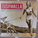 DISHWALLA Pet Your Friends POSTER promo only Counting Blue Cars cheesecake cd'95