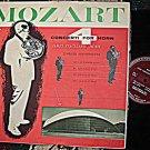 James Stagliano Zimbler Sinfonietta MOZART 4 Concerti for Horn LP MIT Kresge
