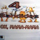 "4 Bandidos Oh Mama-Mama 12"" HEAR Rare ITALO picture sleeve HEAR"