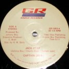 "CAPTAIN JACK Jack It Up 12"" HEAR '84 vocoder Texas private modern funk boogie OG"