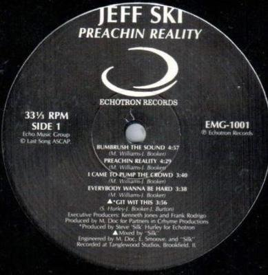 JEFF SKI Preachin' Reality LP SEALED random rap RARE gangster HEAR g-funk rap