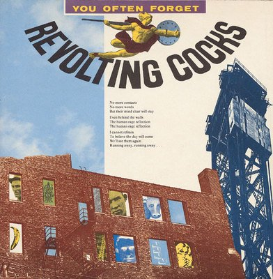 "REVOLTING COCKS You Often Forget 12"" Wax Trax! industrial '86"