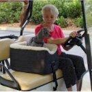 Snoozer Golf Cart Lookout Pet Seat - Khaki Vinyl - Medium