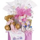 Large Baby Girl Gift Box