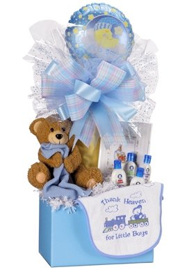 Large Baby Boy Gift Box